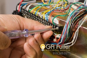Appliances wired by licensed electrician in Raleigh